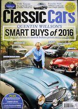 Classic Cars Magazine May 2016 TVR Porsche 911 Arnolt Bristol BMW 3 Countach