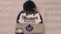 Toronto Maple Leafs New Era Winter  Hat Cap Tuque Youth Size New NWT