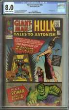 TALES TO ASTONISH #66 CGC 8.0 OW/WH PAGES