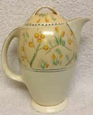 Elegant Shape Signed/stamped Loyal Burleigh Ware Vase Hand Painted With Bull Rushes