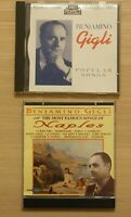 Beniamino Gigli 2 CD Set Famous Songs From Naples