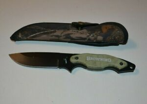 Browning ITALY Model 670 Hunting Knife with sheath