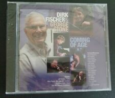 Dirk Fischer & George Stone CD Coming of Age 2010 New FREE SHIPPING Jazz SEALED