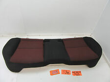 04 05 06 07 08 09 MAZDA 3 REAR SEAT BASE CUSHION BOTTOM BACK BLACK RED OEM