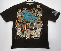 5ive jungle & Co Men's Walk of Life Kings/Richmond/NY/Queens/Bronx Size XL Tee