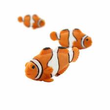 "Safari Ltd Clownfish Lot Of 25 Good Luck Minis! #341422 Tiny 1"" Long"
