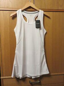 BJORN BORG Tess Tennis Dress - White - Size UK 8 - NEW + Tags