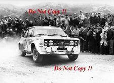 Walter Rohrl FIAT 131 ABARTH RALLY PORTOGALLO fotografia 1980 3