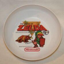 """Vintage 1989 The Legend Of Zelda Link Nintendo Bowl RARE! 6"""" Plastic HTF Game"""