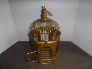 Vintage Metal Small Birdcage