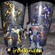Transformers Full set Cinema Movie Figure Topper + Cup