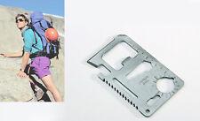 Multi Tool, wallet thin pocket survival credit card micro knife