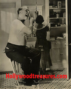 "WC Fields~Hair Salon~Barber~Decor~Poster~Shaving~Photo~16""x 20"""