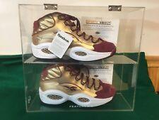 """REEBOK Question Packer Shoes """"SAINT ANTHONY"""" sz 8.5 500 pairs Allen Iverson Auto"""
