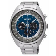 Seiko Men's SSC619 'Solar' Chronograph Stainless Steel Watch