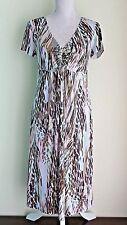UK 12 EU 38 KALEIDOSCOPE Dress V-Neck Stretch Material (3)
