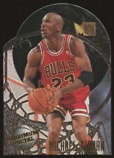 1995-96 Fleer Metal Michael Jordan #4 Maximum Metal Die-Cut Insert