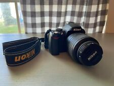 Nikon D60 Digital SLR Camera Body, Lens, Charger and Battery.