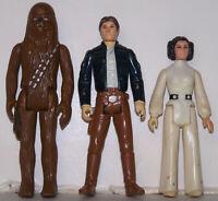 Vintage Kenner 1979,Star Wars,Bespin Han Solo, Princess Leia, Chewbacca. bundle
