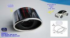 Terminale Scarico Fiat nuova 500  2007 >  cromato in acciaio inox tuning per di