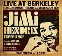 The Jimi Hendrix Experience - Live At Berkeley (NEW CD)