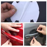 8pcs Car Door Handle Clear Transparent Protector Anti-Scratch Protective Films