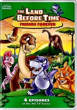 NEW DVD // THE LAND BEFORE TIME - FRIENDS FOREVER -  4 EPISODES - 93min