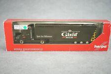 1:87 - Herpa--US-Truck LKW Sattelzug GIRAF BEER..OVP   // 2 V 959