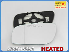 Wing Mirror Glass MERCEDES E-Class W211 06-09 Wide Angle HEATED Left Side #E025