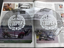 GENUINE ROVER MINI COOPER SPORT NOS SPOT LAMP LIGHT PERSPEX COVERS RARE WORKS S