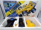 Vintage 1989 Tomy Japan Formula F-1 Yellow Super Kit NOS Taiyo Tomica Nikko