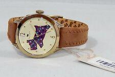 Ladies Radley London Scottie Dog Tan Leather Strap Watch RY2180 - RRP £90. NEW