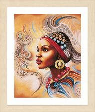 Mother Africa (Aida) :  Lanarte Counted Cross Stitch Kit - PN0167128