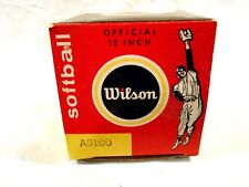 Vintage Wilson A9100 Softball NIB