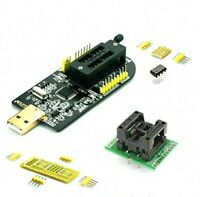 DreamPro2 programmer + Wide-body SOP8 Socket + Matching Adapter Plate and Chip