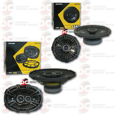 "BRAND NEW KICKER 6x9"" 3-WAY CAR AUDIO SPEAKERS PLUS 6.5"" 2-WAY CAR COAX SPEAKERS"
