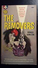 "Donald Hamilton, ""Removers,"" GM s1082, VG, 1961, 1st Print"