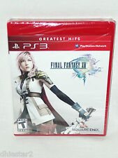 FINAL FANTASY 13 XIII PS3 GREATEST HITS BRAND NEW & FACTORY SEALED