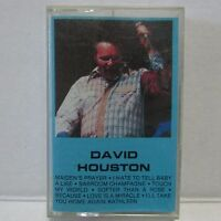 David Houston Self-Titled Country Audio Cassette Tape Richmond N5-2332