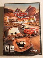 Cars Mater National Championship PC DVD-ROM CD-ROM Game COMPLETE Disney Pixar