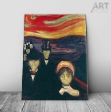 Red Expressionism Art Prints
