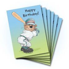 Suzy's Zoo Happy Birthday Greeting Card 6-pack 10213