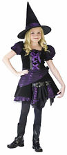 Purple  Punk Witch Medium Girls 120032
