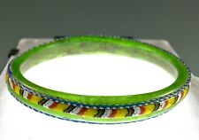 Ancient Roman Green Glass Bracelet 1St-2Nd Cent A.D. Outstanding Colors!