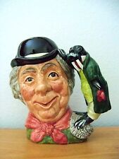 Royal Doulton Character Jug  WALRUS AND CARPENTER  Large  D6600  Retired 1980