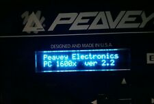 Peavey PC1600 / PC1600X (Red/White/Blue/Amber) Oled Display !