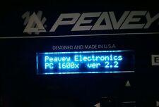 Peavey PC1600/PC1600X azul pantalla OLED!