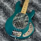 MUSIC MAN 2000 Stingray Translucent Teal Used Electric Bass for sale