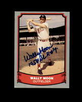 Wally Moon Signed 1988 Pacific Baseball Legends St.Louis Cardinals Autograph