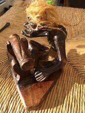Vintage   Wooden Carved Figure